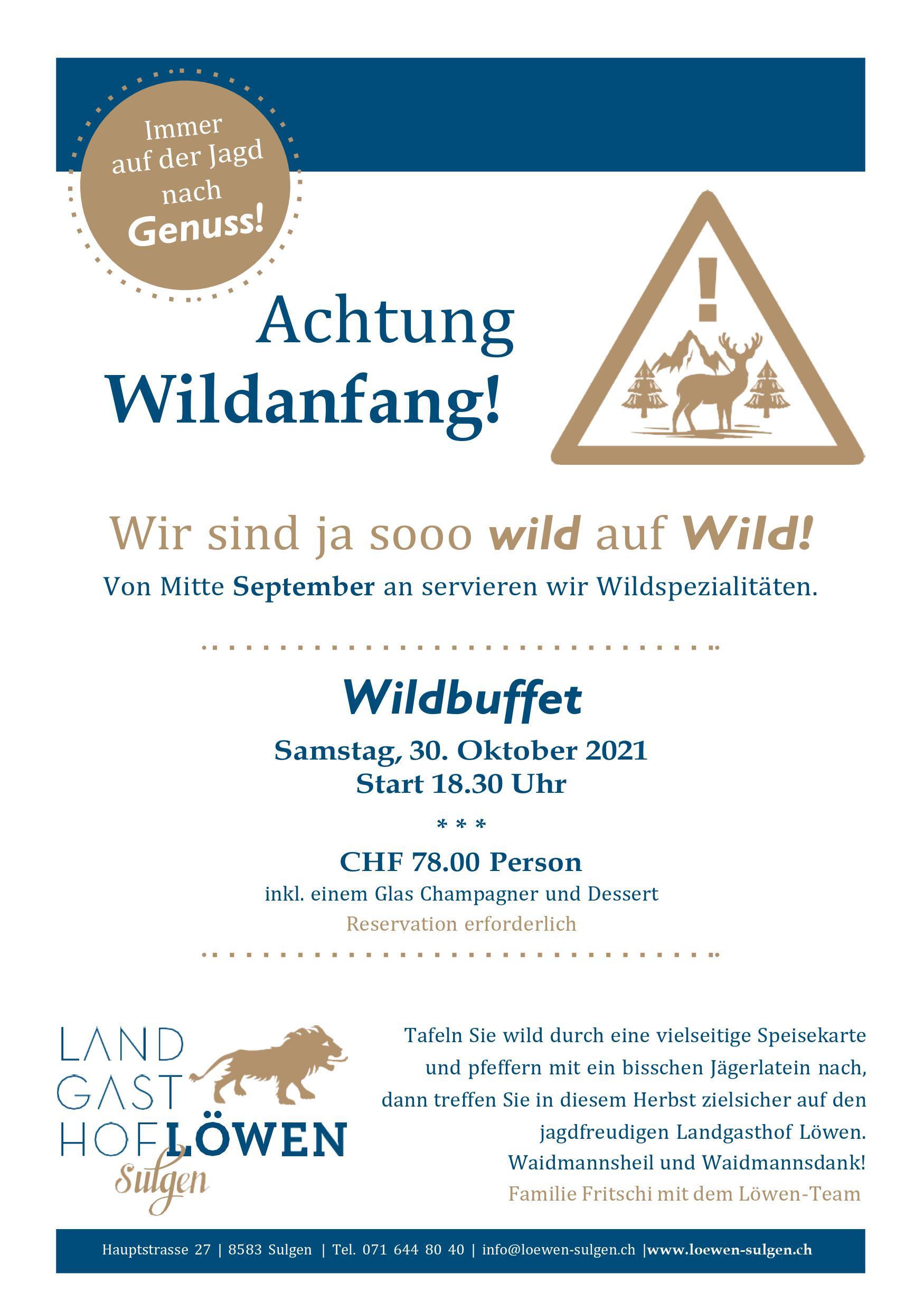 Wildbuffet 2021